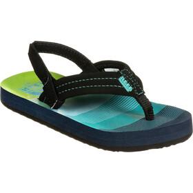 Reef Ahi Sandals Kids aqua/green